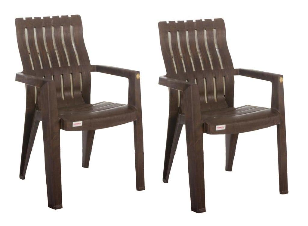 Bamboo Plastic Chair