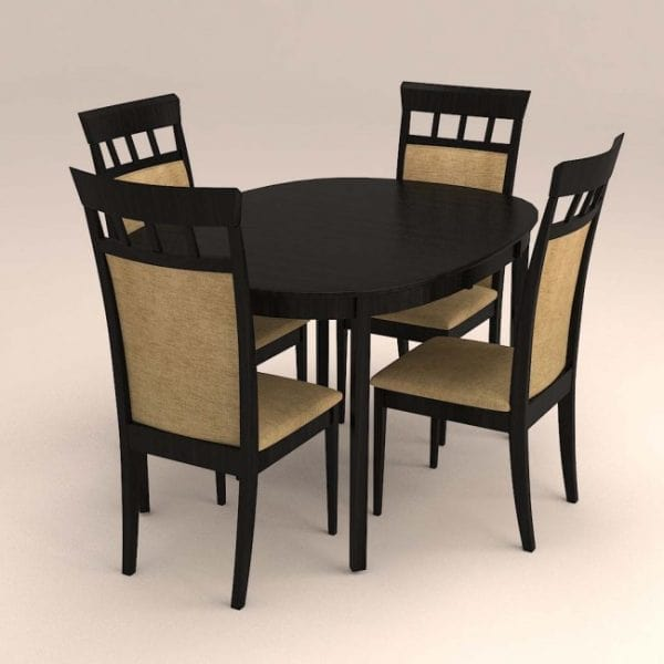 AVON – WOODEN DINING SET ( 1 + 4 )-min