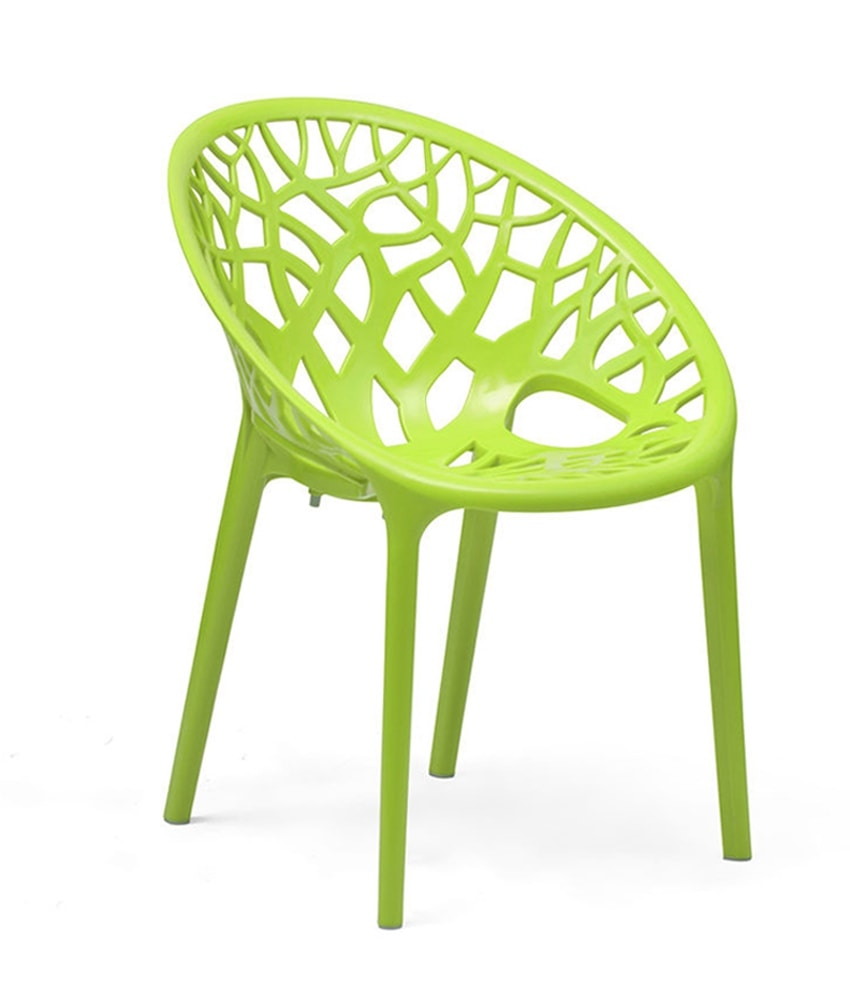 Crystal Pp Plastic Chair Designer Plastic Chair