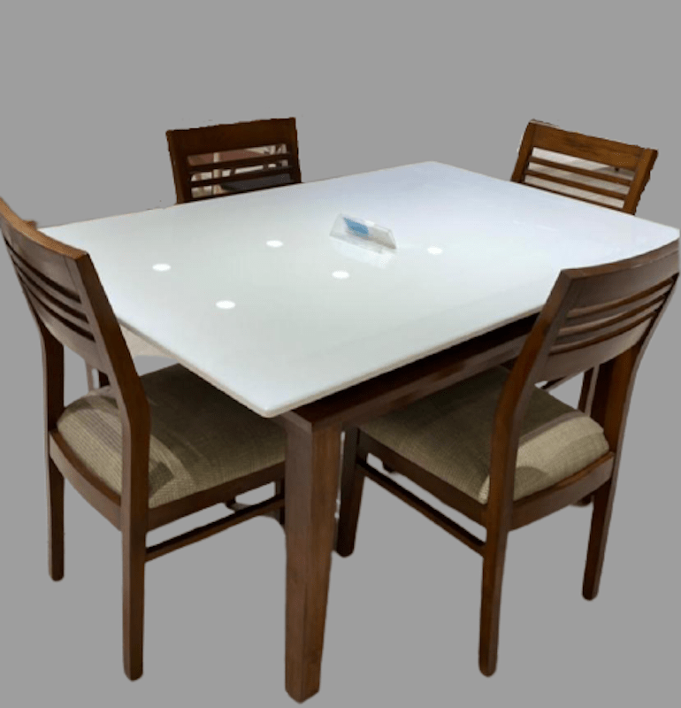 Dallas Marble Dining Set, Marble Dining Room Table