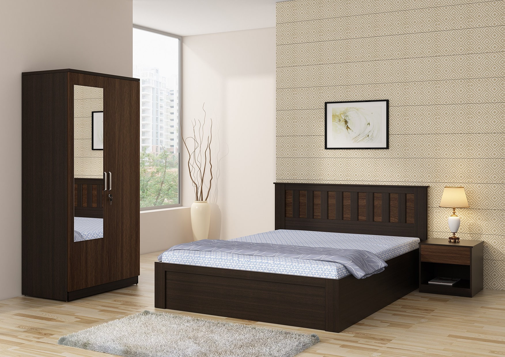Moca Bedroom Set Betterhomeindia Indian Bedroom Set