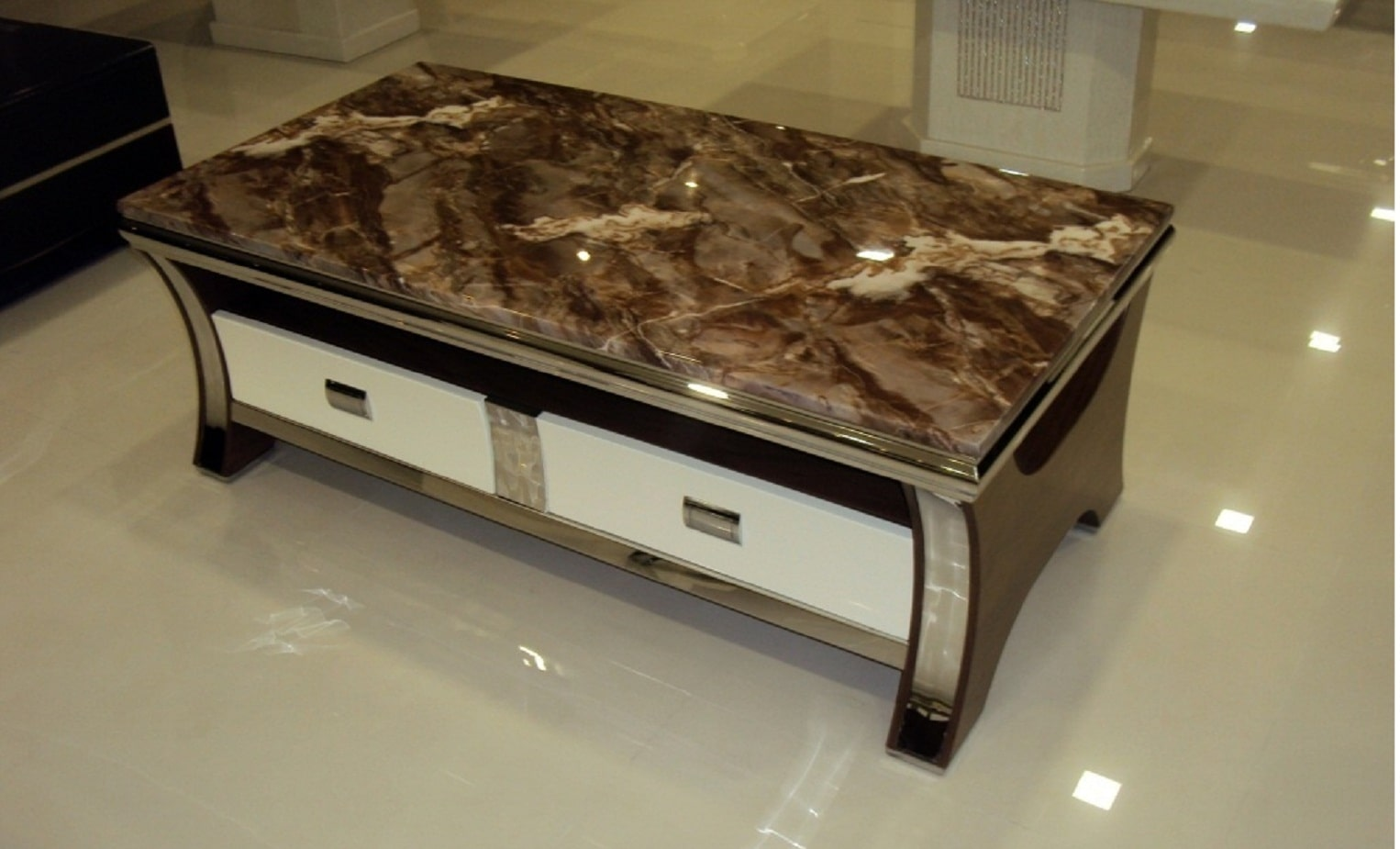 Queen Centertable Betterhomeindia Coffee Table Marble Top