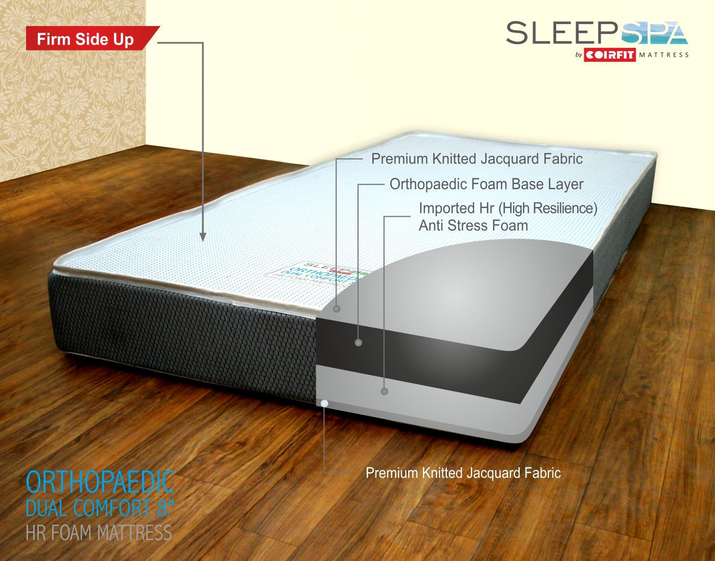 orthopedic mattresses Elegant SLEEP SPA NA 20 32 cm 8 Orthopedic Mattress Buy SLEEP SPA NA