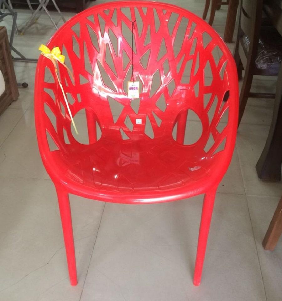 apple plastic chair-betterhomeindia
