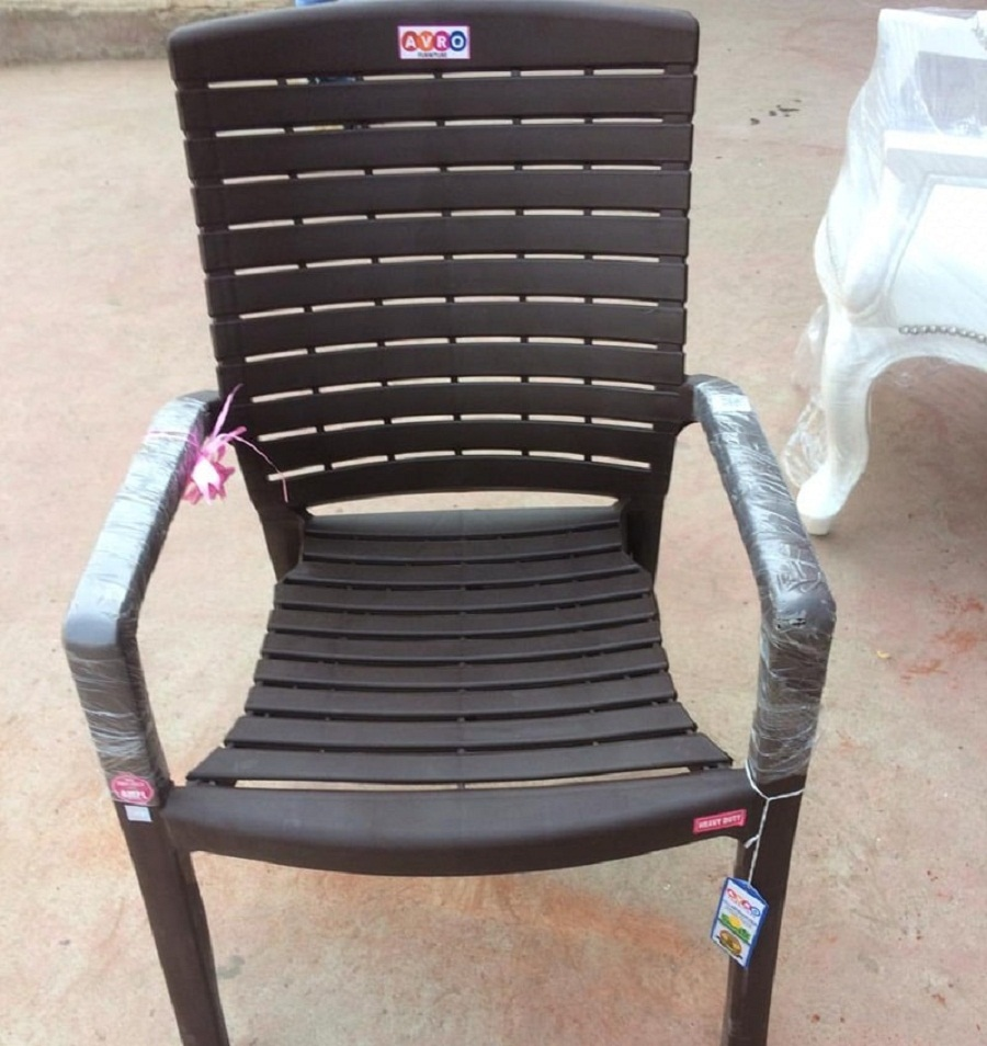 spinecare plastic chair-betterthomeindia