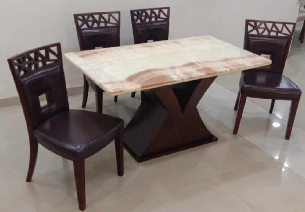 Crista Dining Table Betterhomeindia Latest Designer Dining Table Ahmedabad Four Seater Dining Table Ahmedabad Marble Dining Table Ahmedabad